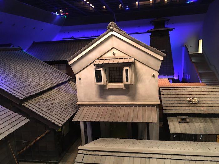 深川江戸資料館のなかに入るとそこは江戸時代