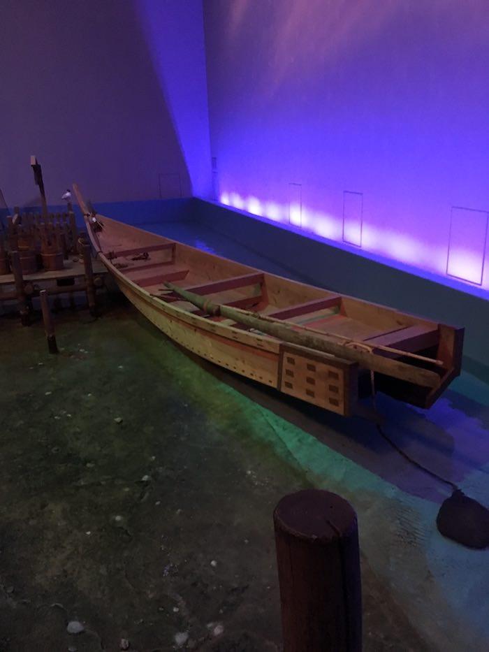 江戸時代の猪牙舟(ちょきぶね)...