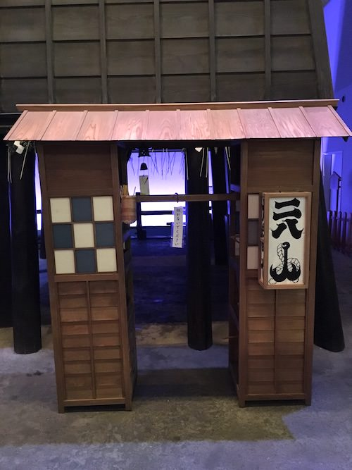 江戸時代の二八蕎麦の屋台(深川江戸資料館 再現)