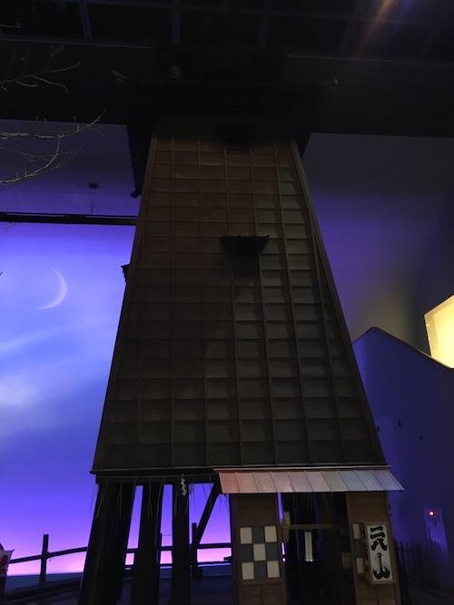 江戸時代の火の見櫓(深川江戸資料館 再現)