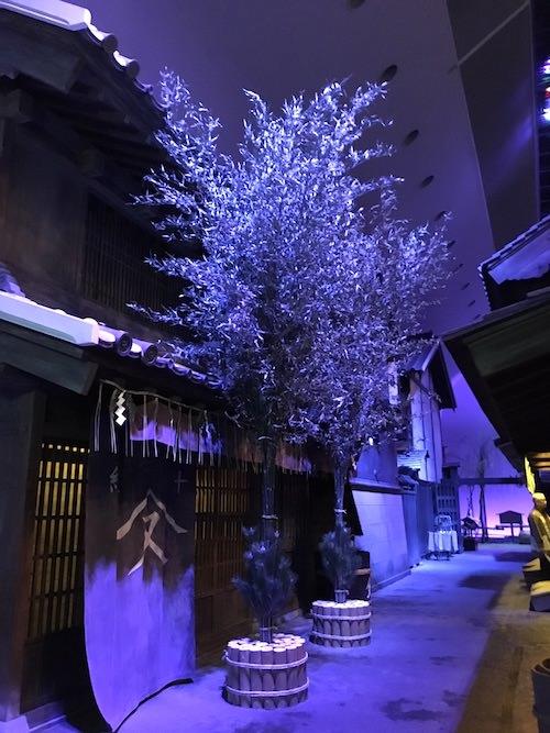 江戸時代の門松(深川江戸資料館 再現)