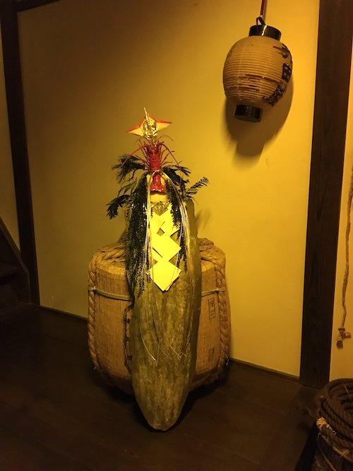 江戸時代の鏡餅(深川江戸資料館 再現)