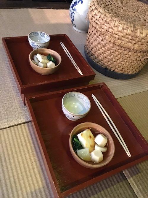 江戸時代のお雑煮(深川江戸資料館 再現)