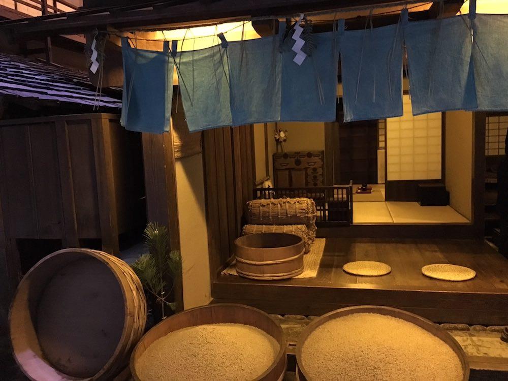 裏通りにある裏長屋の大家(深川江戸資料館 再現)の拡大画像