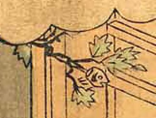 柊鰯(『節分』鈴木春信 画)