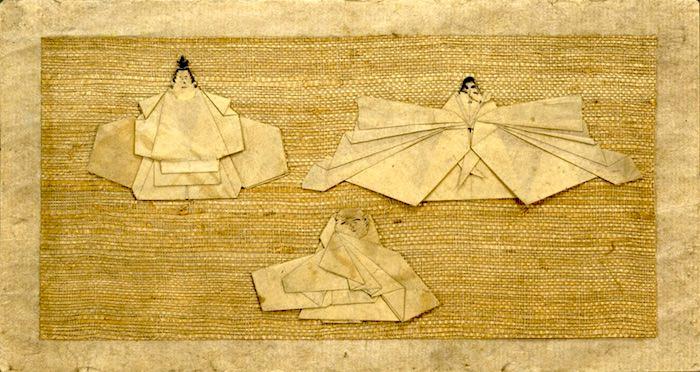折り紙のおひな様(ひな祭り)
