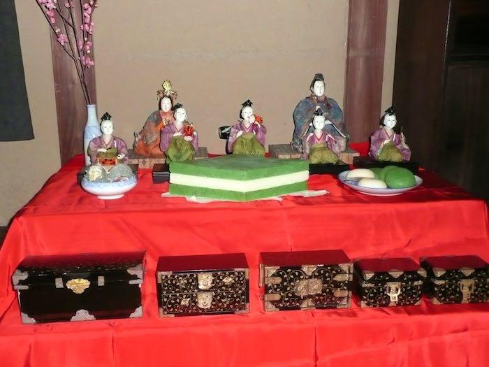 江戸時代のひし餅(深川江戸資料館 再現)