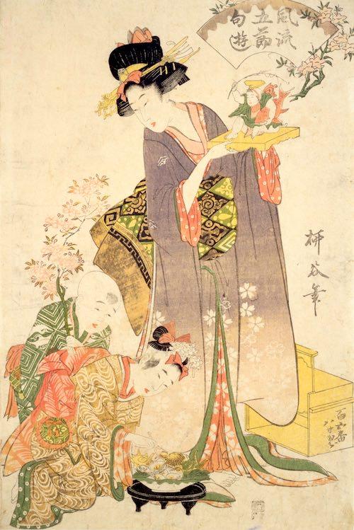 『風流五節句遊』(柳谷 画)