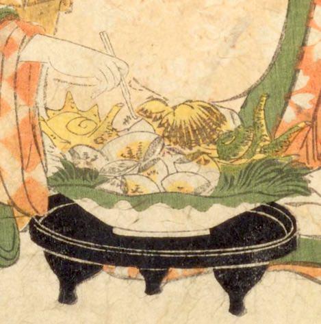ひな祭りにハマグリやアサリなどの貝類をお供えする習慣があった