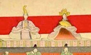 大奥江戸城でのひな祭りのようす