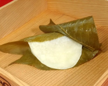 関東風の桜餅(長命寺)