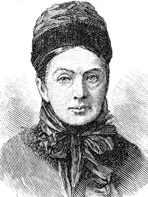 イザベラ・バードの肖像画