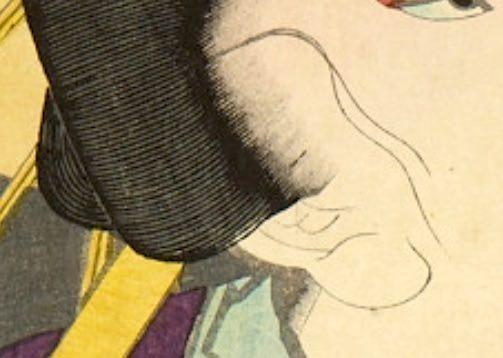 鬢安(彫安)の彫りの技術