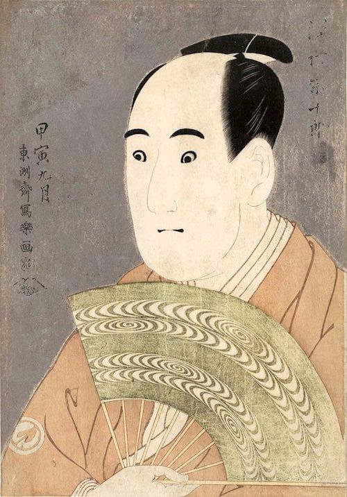 『三世沢村宗十郎の大岸蔵人』(東洲斎写楽 画)