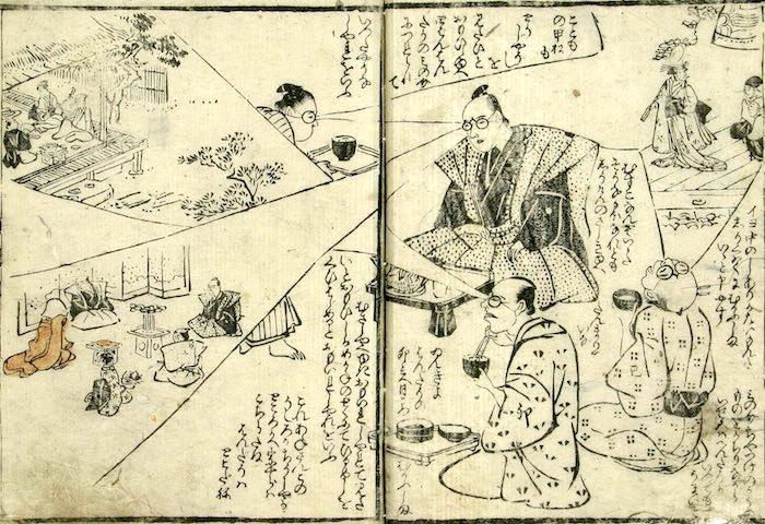 江戸時代、不思議な眼鏡をとりまく奇想天外な物語(『福徳寿五色目鏡』)