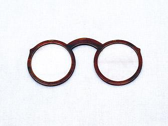 毛利輝元の眼鏡