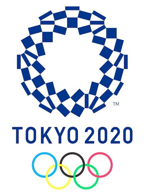 2020年の東京オリンピックのエンブレムでは市松模様がデザインされている