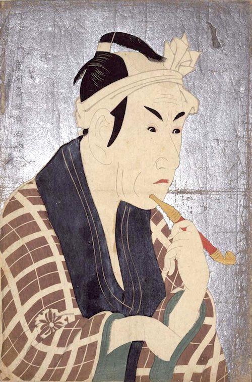 四代目松本幸四郎の肴屋五郎兵衞(東洲斎写楽 画)