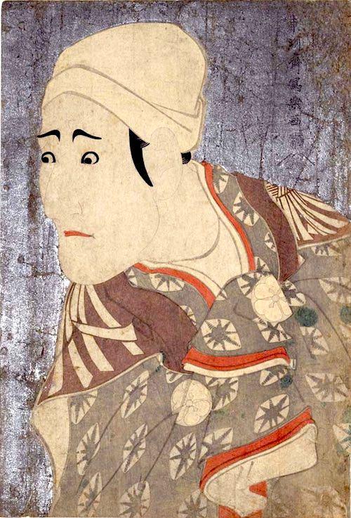 八代目森田勘弥(かんや)の駕籠かき鶯の治郎作(じろさく)(東洲斎写楽 画)