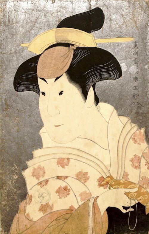 四代目岩井半四郎の乳人(めのと)重の井(東洲斎写楽 画)