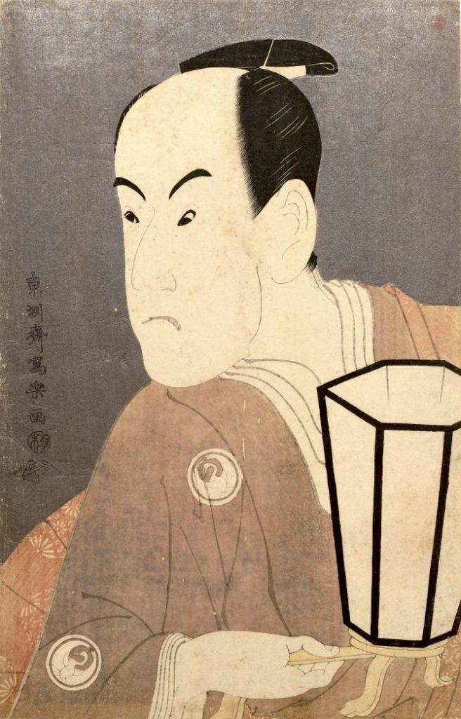 三代目坂東彦三郎の鷺坂左内(さぎさかさない)(東洲斎写楽 画)の拡大画像