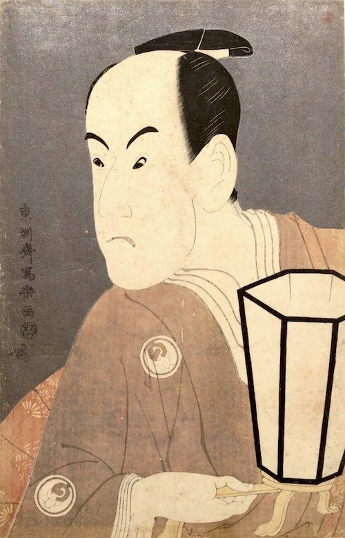 三代目坂東彦三郎の鷺坂左内(さぎさかさない)(東洲斎写楽 画)