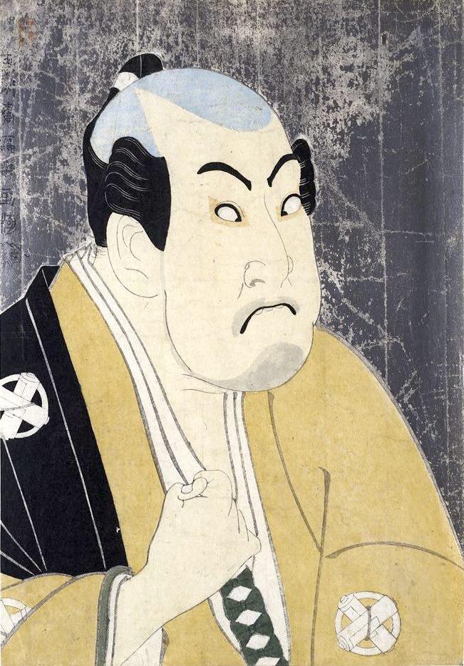 谷村虎蔵の鷲塚八平次(東洲斎写楽 画)の拡大画像