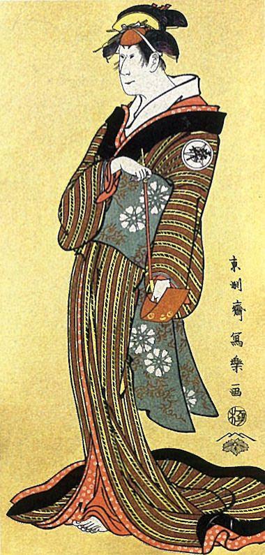 岩井喜代太郎の二見屋娘お袖(東洲斎写楽 画)