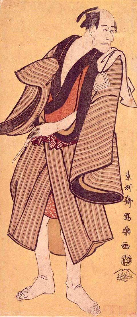 市川鰕蔵のらんみゃくの吉(東洲斎写楽 画)