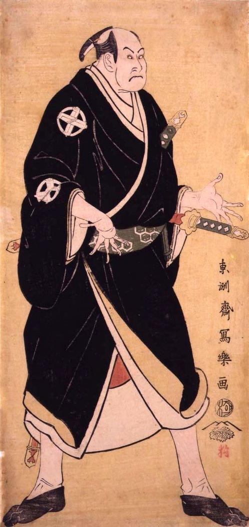 谷村虎蔵の片岡幸右衛門(東洲斎写楽 画)
