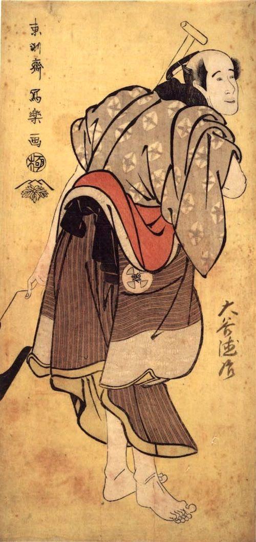 大谷徳次(とくじ)の物草太郎(ものぐさたろう)(東洲斎写楽 画)