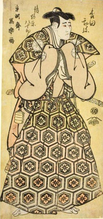 八代目森田勘弥(かんや)の由良兵庫之介(東洲斎写楽 画)