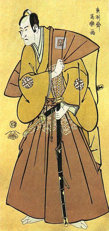 二代目市川高麗蔵(こまぞう)の南瀬(みなせ)六郎(東洲斎写楽 画)