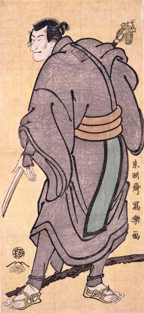 二世市川高麗蔵の南瀬六郎(東洲斎写楽 画)