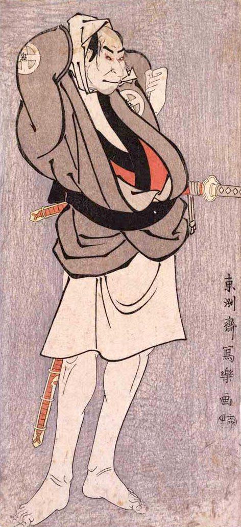 三代目大谷鬼次の川島治部五郎(東洲斎写楽 画)