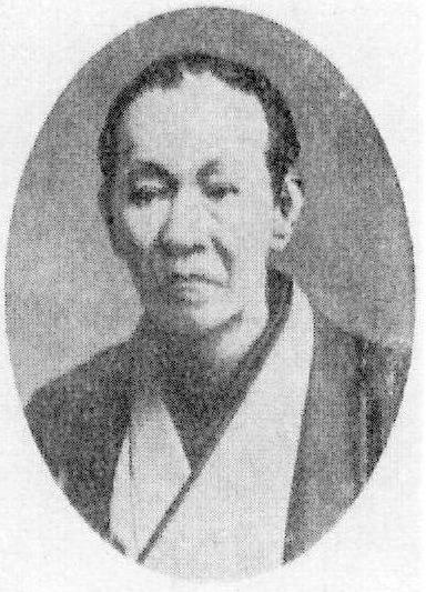 明治の大落語家・三遊亭円朝の写真