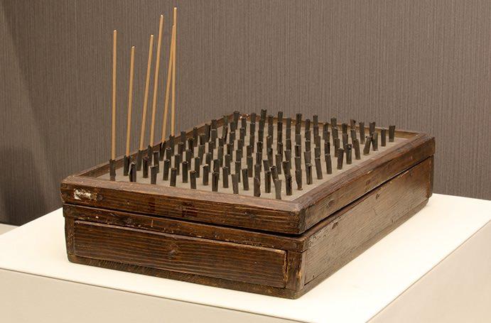 江戸時代に使われていた線香時計