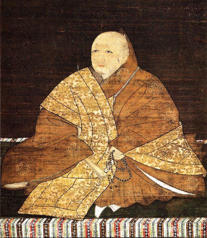 足利義満の肖像画(室町幕府三代将軍)の拡大画像