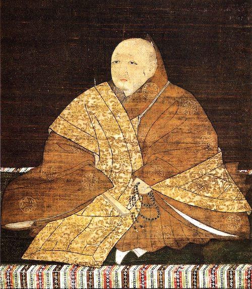 足利義満の肖像画(室町幕府三代将軍)