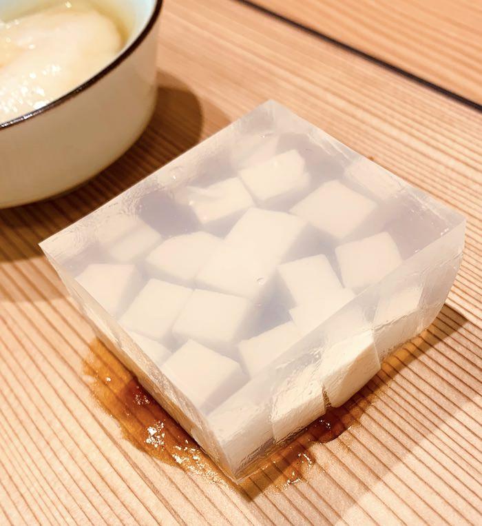 玲瓏豆腐(こおりとうふ、江戸時代の料理)の拡大画像