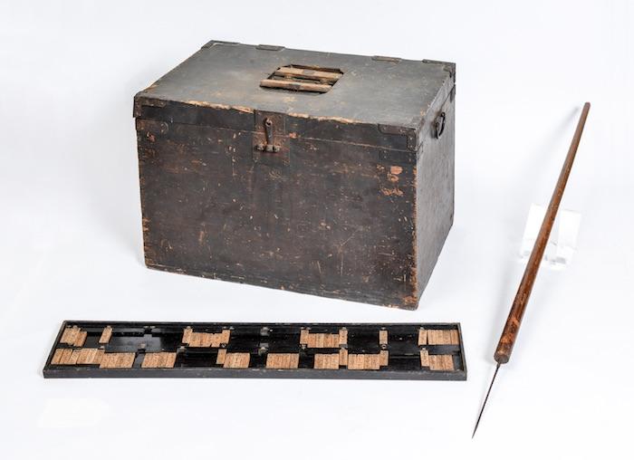 富突き道具(貨幣博物館所蔵)