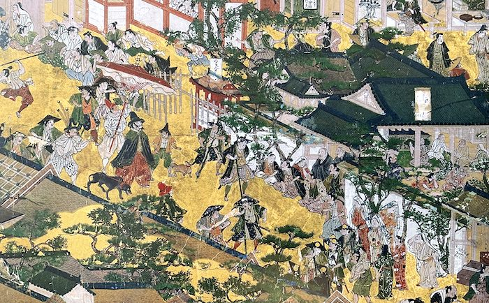 『洛中洛外図屏風』(通称「舟木本」)(岩佐又兵衛 画)