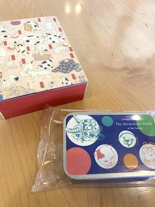歌川国芳のクッキー(展覧会『奇想の系譜展』のグッズ)