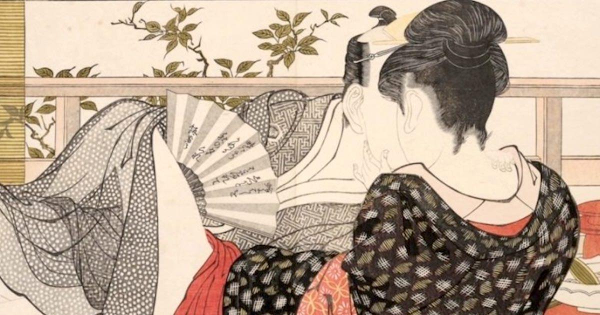 春画とはなに?有名浮世絵師も手がけた春画を分かりやすく解説