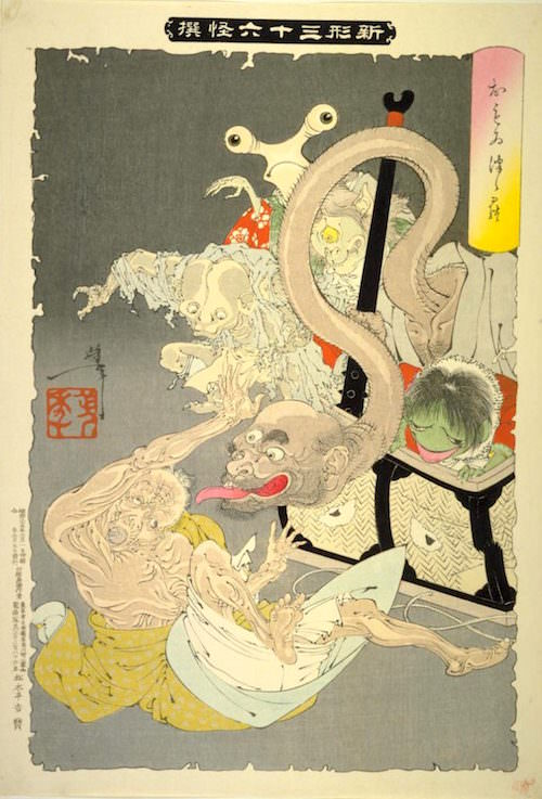 『おもゐつゝら』(月岡芳年 画/1892年)