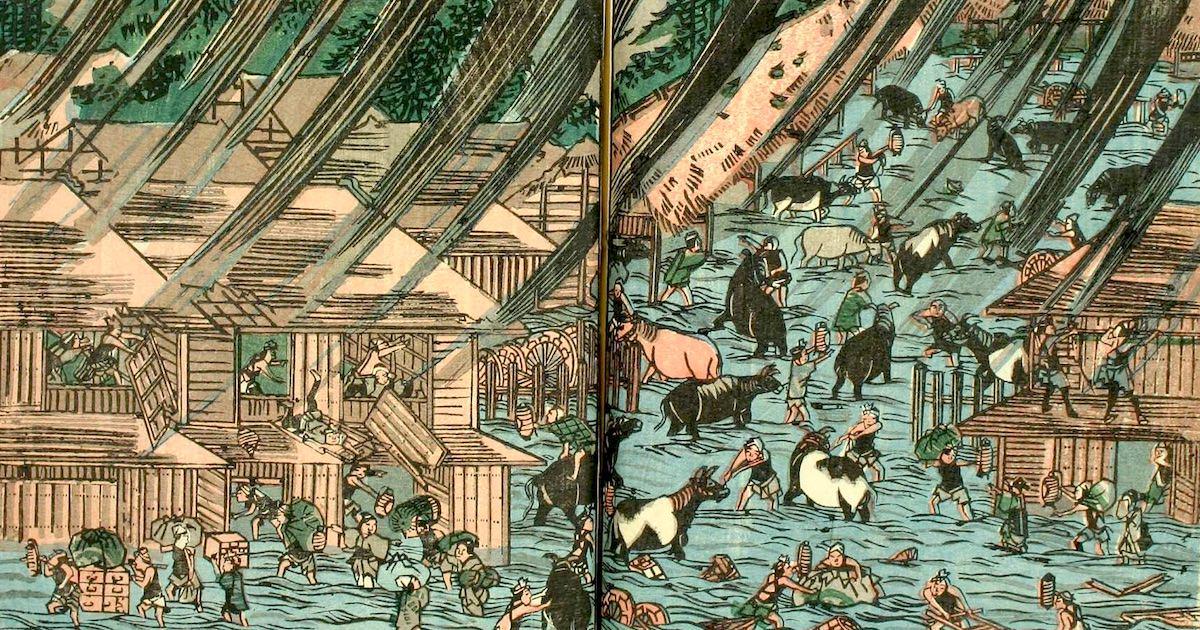 江戸時代に大被害をもたらした超大型台風『安政の台風』とは?