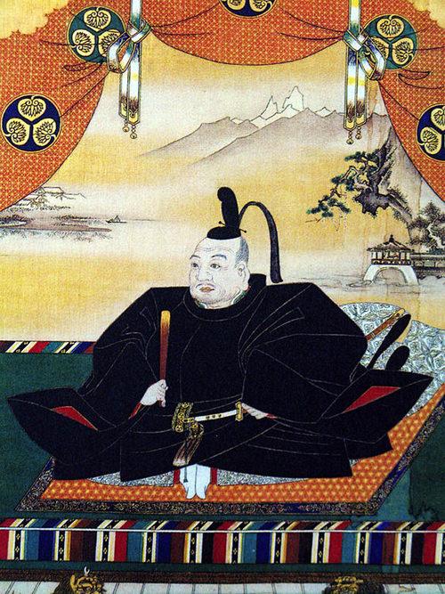 神君・徳川家康公の肖像画