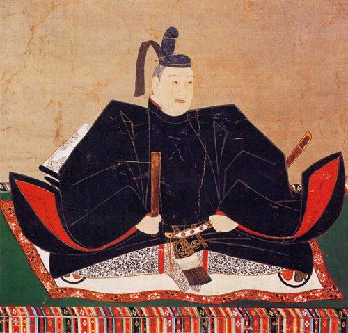 徳川秀忠の肖像画