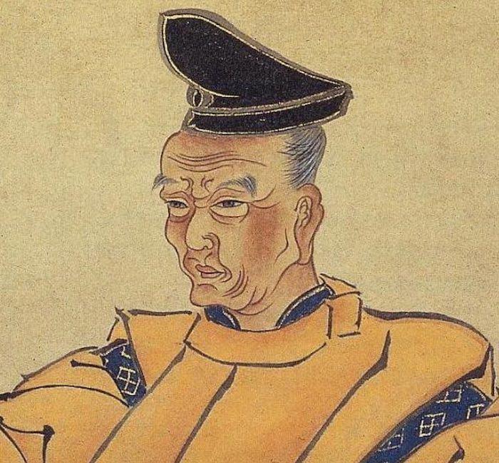 近松門左衛門の肖像画
