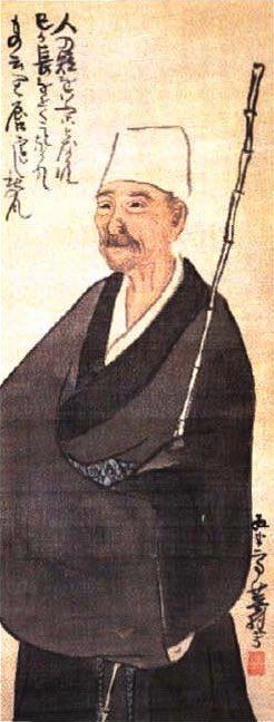 松尾芭蕉の肖像画 (作・与謝蕪村)